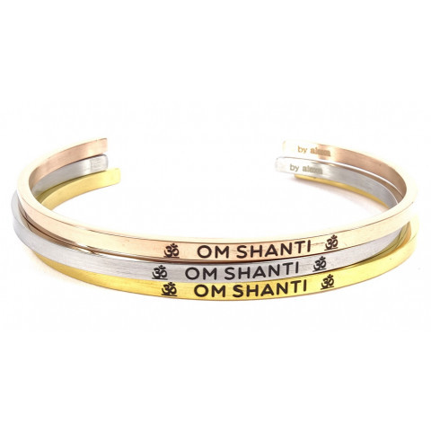 Mein Mantra by Alexa Armreif/Bangle OHM SHANTI
