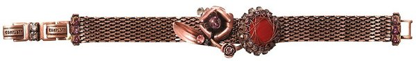Konplott Armband In Honor of the Rose copper-red