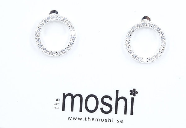 The Moshi Ohrringe Circle silber
