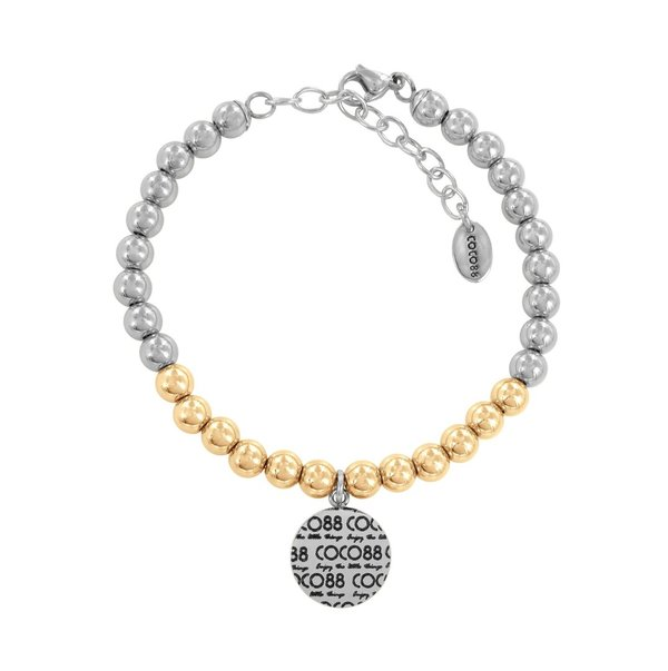 Coco88 Armband Elemental gold-silber