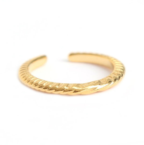 Love Ibiza Fingerring Pattern gold