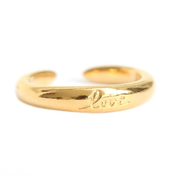 Love Ibiza Fingerring Love gold